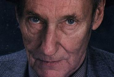 Closeup photo of William S. Burroughs