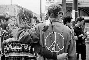 Two people in the 1960s