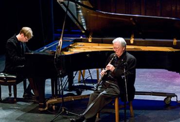 Phil Nimmons, Clarinet & David Braid, Piano